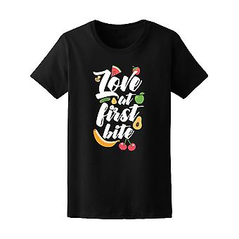 Love At First Bite Fruits Tee Women's -Image by Shutterstock