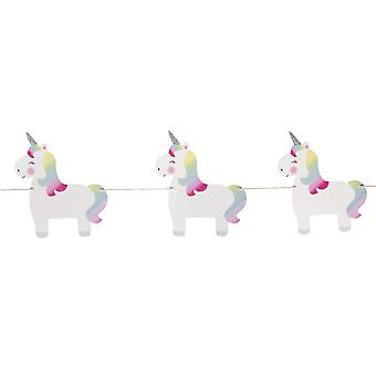 Sass and Belle Rainbow Unicorn Bunting