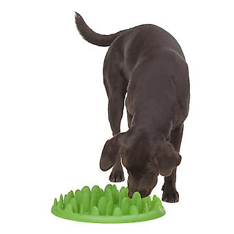 Company of Animals Green Slow Dog Feeder, Stop Your Dog Eating So Quickly L Size