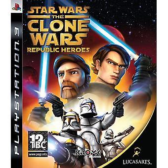 Star Wars The Clone Wars - Republic Heroes (PS3) - Fabrik versiegelt