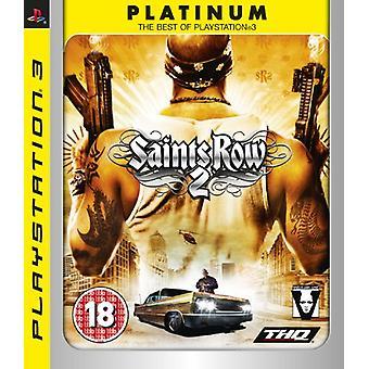 Saints Row 2 - Platinum editie (PS3)