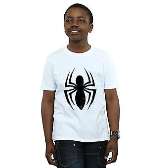 Marvel drenge Spider-Man Ultimate Spider Logo T-Shirt