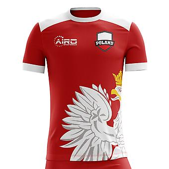 2018-2019 Poland Away Concept Football Shirt (Kids)