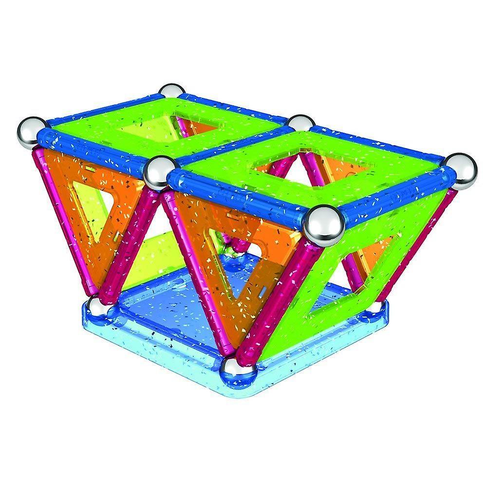 Geomag Glitter Panels eingerichtet 44 Stück