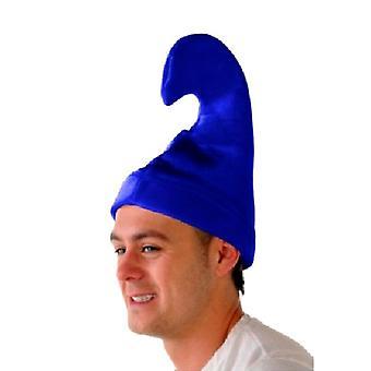 Smurf hatten - blå Velour lue