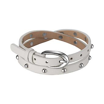 ESPRIT women's leather bracelet stainless steel rock Rio sand beige ESBR11335C380