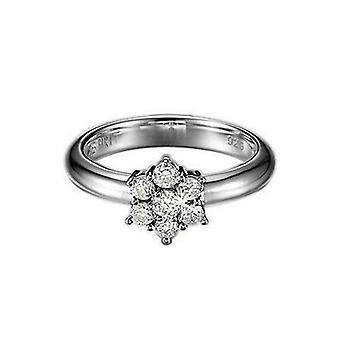 ESPRIT women's ring silver zirconia prelude ESRG91485A1