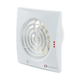 Vents low energy extractor fan 125 Quiet range up to 185 m³/h IP45
