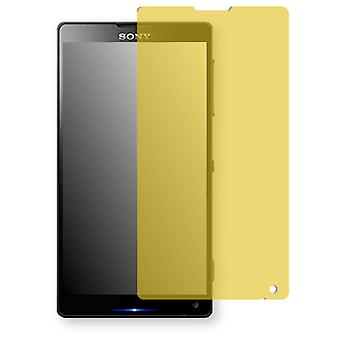 Sony Xperia C6503 display protector - Golebo view protective film protective film