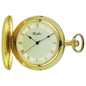 Woodford Gold-Plate Full hunter White Dial pocket 1053 Watch