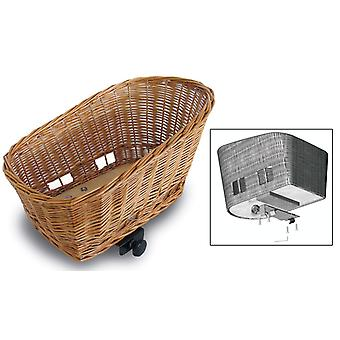 Basil Pasja rear pet bicycle basket