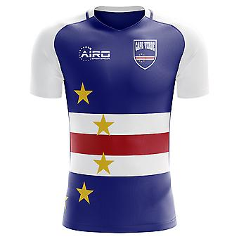 2018-2019 Cape Verde Home Concept Football Shirt (Kids)