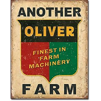 Another Oliver Farm Tractor Metal Sign