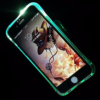 Mobile case LED Licht call for phone Apple iPhone 8 plus blue