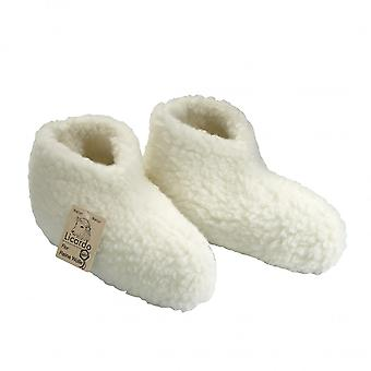 Bed shoes wool ecru 42/43