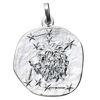 Aanhangwagen Zodiac Leeuw zilver 925 sterling zilver