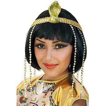 Glitter di Cleopatra fascia oro Cobra accessorio Regina Egitto