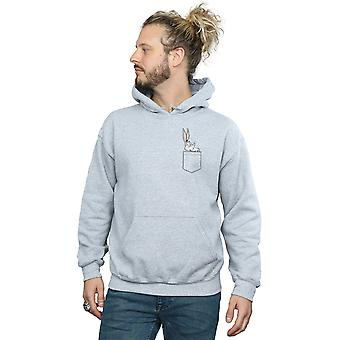 Looney Tunes Men's Bugs Bunny Faux Pocket Hoodie