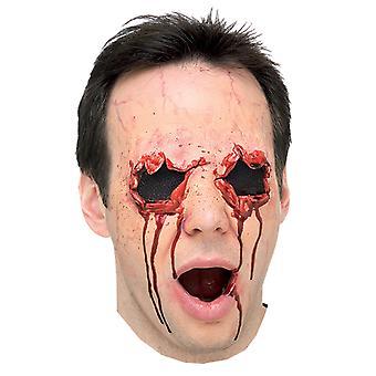 Sightless Eyes Ripped Off Horror Injury Victim Halloween Mens Costume Prosthetic