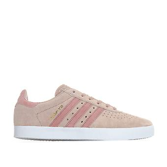 Womens adidas Originals 350 Trainers In Ash Pearl