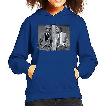 TV Times Karl Malden Michael Douglas Streets Of SF Kid's Hooded Sweatshirt
