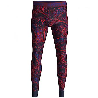 Björn Borg Tour Eiffel Print Long Johns, Marine/Bordeaux