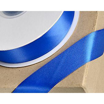 23mm Royal Blue Satin Ribbon for Crafts - 25m | Ribbons & Bows for Crafts