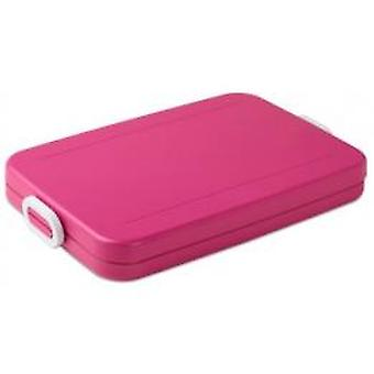 Mepal Lunchbox to go flat pink