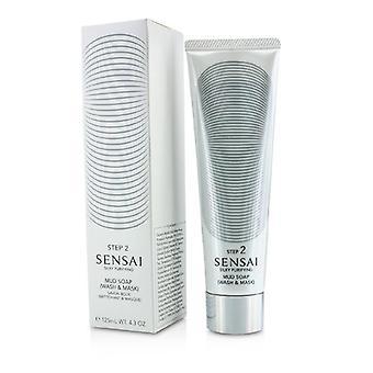 Sensai Silky Purifying Mud Soap - Wash & Mask (New Packaging) - 125ml/4.3oz