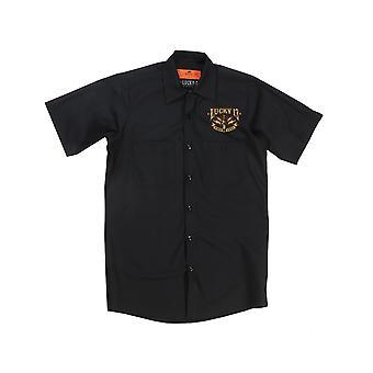 Lucky 13 men's short-sleeved shirt Amped