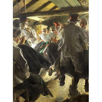 Unknow travailler, Anders Zorn, 50x40cm