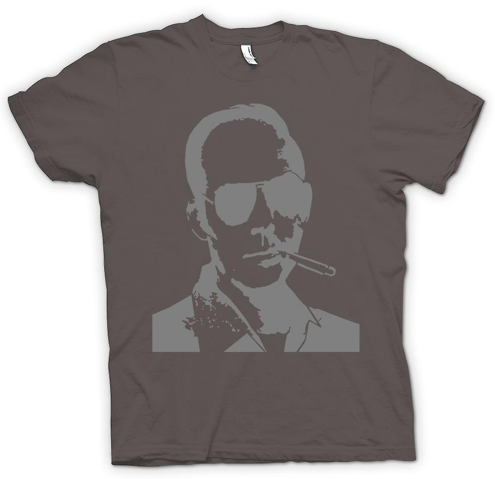 Mens T-shirt-Hunter S Thompson Fear And Loathing
