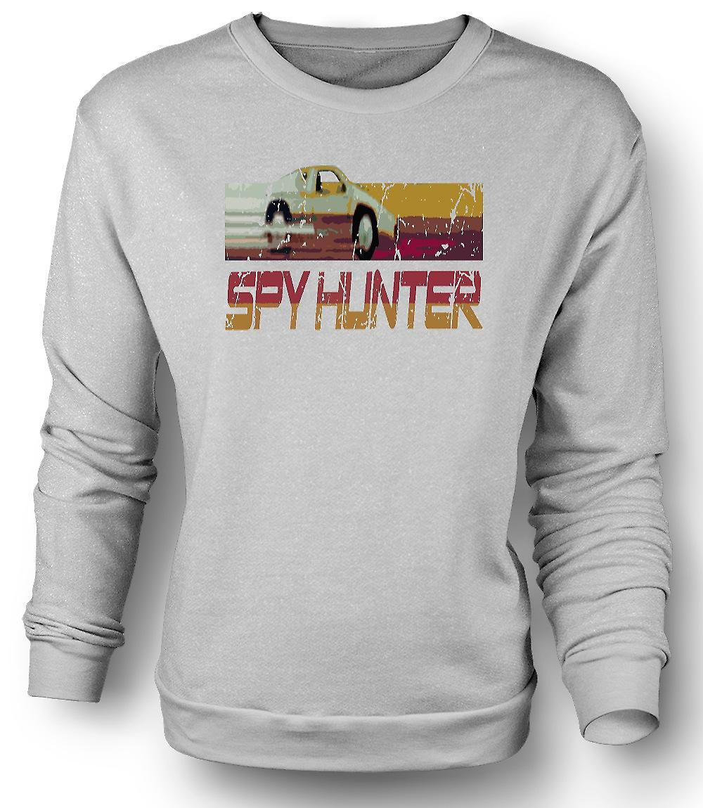 Mens Sweatshirt Spyhunter - C64 - Retro dataspel 0s