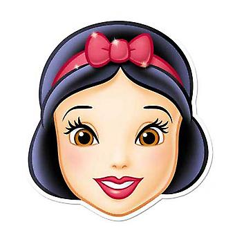 Snow White Card Face Mask