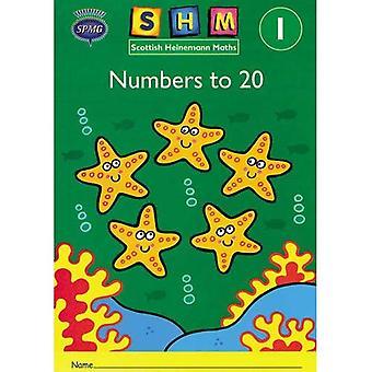 Scottish Heinemann Maths 1: Number to 20 Activity Book 8 Pack: Year 1