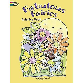Fées fabuleuses livre de coloriage