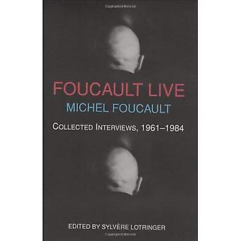 Foucault Live: Intervjuer, 1966-84 (dubbelagenter)