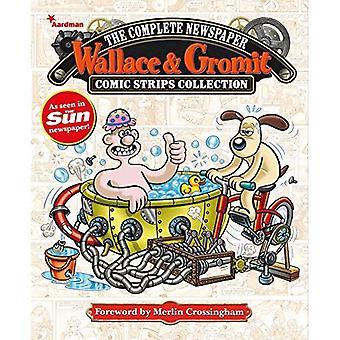 Wallace & Gromit: De volledige krant Strips Collection Vol. 4