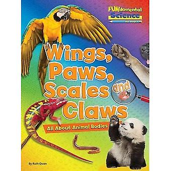 Fundamental Science Key Stage 1: Wings, Paws, Scales and Claws: All About Animal Bodies 2016 (Fundamental Science...