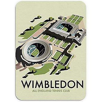 Wimbledon Tennis Mouse Mat 245Mm X 195Mm