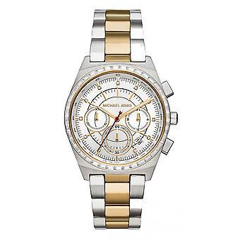 マイケルコースシルバーレディースレディースゴールドシルバー派手腕時計 MK6445