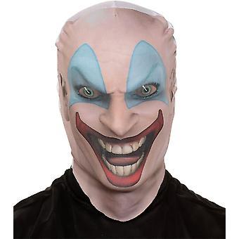 Killer Clown Haut Maske für Halloween