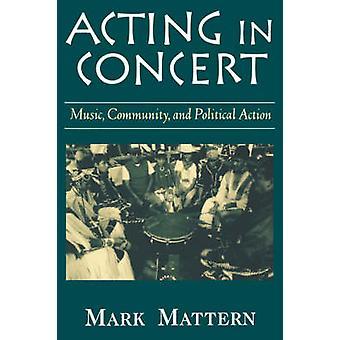 Atuando na Comunidade de música de concerto e ação política pelo Mattern & Mark