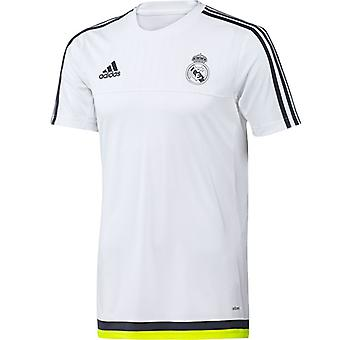 2015-2016 Real Madrid Adidas Training Shirt (White)