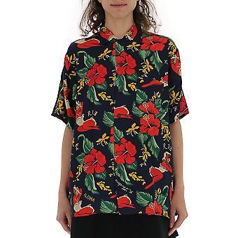 R13 Multicolor Viscose Shirt