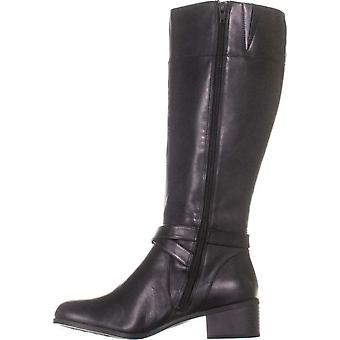 Giani Bernini Womens Revaa Leather Round Toe Ankle Fashion Boots
