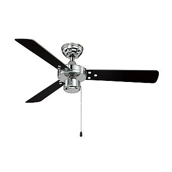 AireRyder ceiling fan Cyrus Chrome without Light