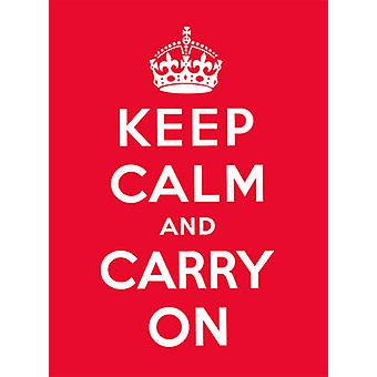 Blijf kalm en Carry-goed advies voor moeilijke tijden-9780091933661 Bo