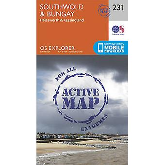 Southwold and Bungay (September 2015 ed) by Ordnance Survey - 9780319