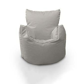 Toddler Water Resistant Bean Bag Chair-Silver